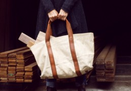 Madagascar linen bag