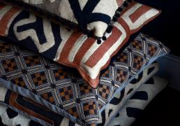NdL kuba cloth cushions