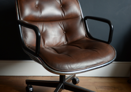 Vintage Charles Pollock Executive Chair