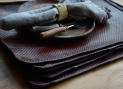 NdL leather tablemats