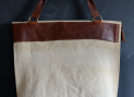 Nivaldo linen and canvas bags