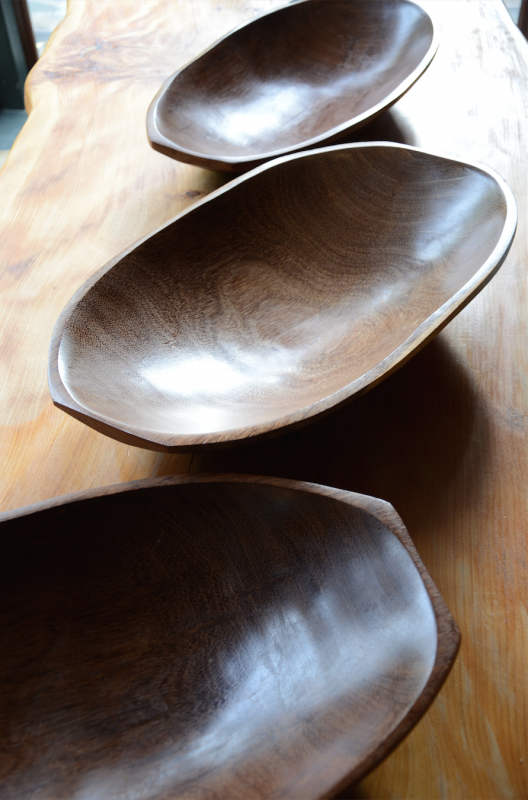 Handcrafted Wooden Bowls From Brasil